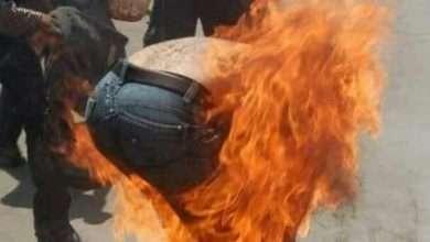 Photo of فراس موظف حكومي يشعل النار في نفسه بسبب تأخر الرواتب
