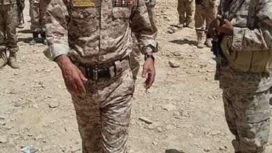 صورة إستشهاد مقتل اللواء حميد التويتي اليوم السبت 10-6-2017 في نهم