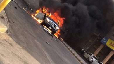 Photo of صور وفيديو إنفجار سيارة مفخخة في القطيف السعودية