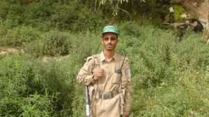 صورة مقتل القيادي الحوثي بشير الشهواني الذي إقتحم عمران والفرقه