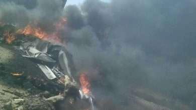 Photo of تناقلت مواقع الإعلام الحوثية خبر إسقاط طائرة امريكية في جدر صنعاء
