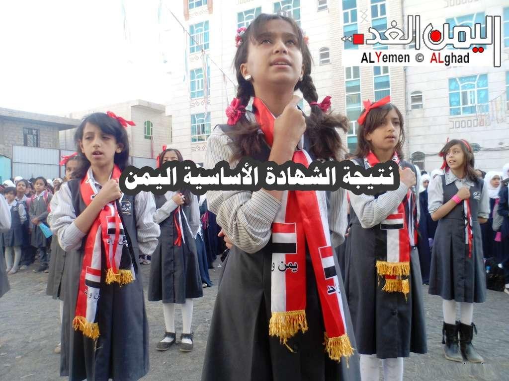 نتيجة الشهادة الاعدادية الصف الثالث الاعدادي التاسع في اليمن 2020 رقم الجلوس 1