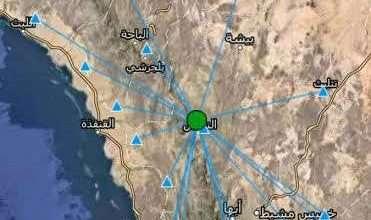 صورة حقيقة هزة أرضية في السعودية اليوم في المناطق الجنوبيه صور اين