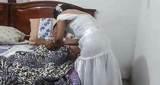 تعرف على سبب قيام عروس ترك عريسها في حفل الزفاف