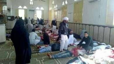 صورة صور من تفجير مسجد الروضة ومجزرة حادث العريش وكذلك سبب الحادث الإرهابي