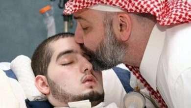 """صورة إشاعة وفاة الأمير الوليد بن خالد بن طلال """" الأمير النائم """""""