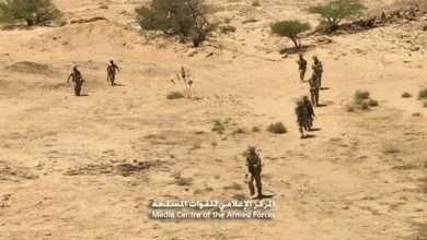 صورة الجيش اليمني يقترب من وكر زعيم الحوثيين في صعد شمالي البلاد