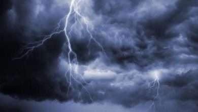 Photo of حالة الطقس : امطار غزيرة مصحوبة بسحب رعدية على العاصمة اليمنية صنعاء وبعض المحافظات الجنوبية الغربية