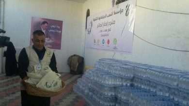 صورة تدشين حملة افطار الصائم لاثنى عشر وخمسمائة رجل مرور وأمني بصنعاء