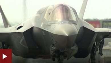 """""""الشبح"""" الطائرة التي دخلت خط النار من قبل اسرائيل ضد أهداف سورية 8"""