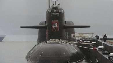صورة غواصة نووية سرية تفاجئ الوسط العسكري