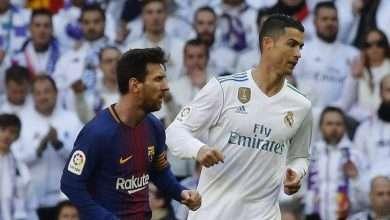 صورة الكلاسيكو : قنوات تبث مباراة برشلونة وريال مدريد الليلة شاهد موعد المباراة يلا شوت