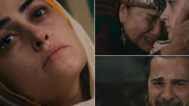 صورة حليمة خاتون وفاة السلطانة حليمة في مسلسل ارطغرل 116