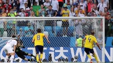 نتيجة مباراة السويد ضد كوريا الجنوبية 1:0 8