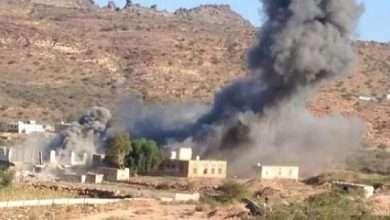 صورة تفجير المنازل تعود للواجهة.. الحوثي يتوحش