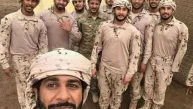 صورة اول صورة تجمع العميد طارق مع القوة الإماراتية بعد تحرير مطار الحديدة