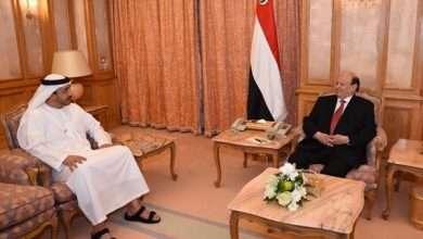 "Photo of الرئيس اليمني يتوجه إلى ""أبوظبي"" للمرة الأولى منذ 15شهراً"