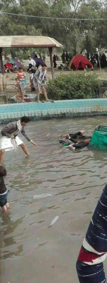 """مقتل 3 أشخاص في حديقة السبعين في صنعاء بسبب الكهرباء """" فرحة العيد إنتهت بجنازة"""""""