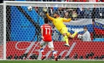 خسارة السعودية في نتيجة مباراة السعودية وروسيا في كأس العالم 2018 1