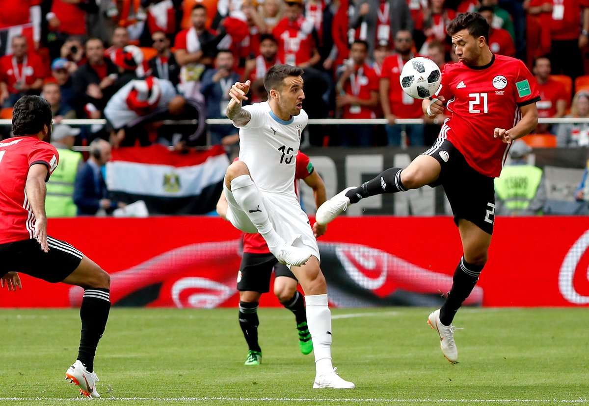 مشاهدة نتيجة مباراة مصر والارجواي في كأس العالم 2018 يلا شوت مصر الأوروغوياني