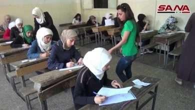 نتيجة التاسع سوريا 2018 قبل نتائج شهادة التعليم الأساسي تعطل موقع وزارة التربية السورية 105