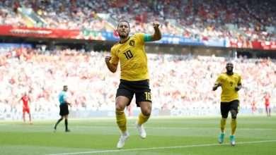 ملخص مباراة بلجيكا وتونس كأس العالم 2018 6
