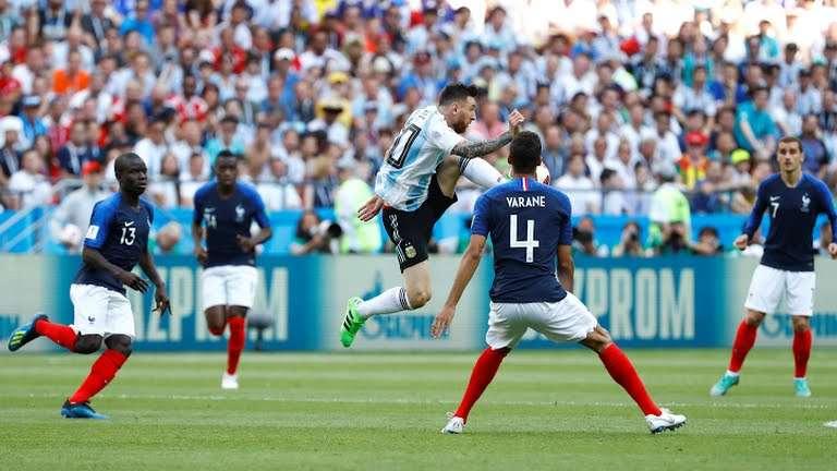 نتيجة مباراة الارجنتين وفرنسا يلا شوت