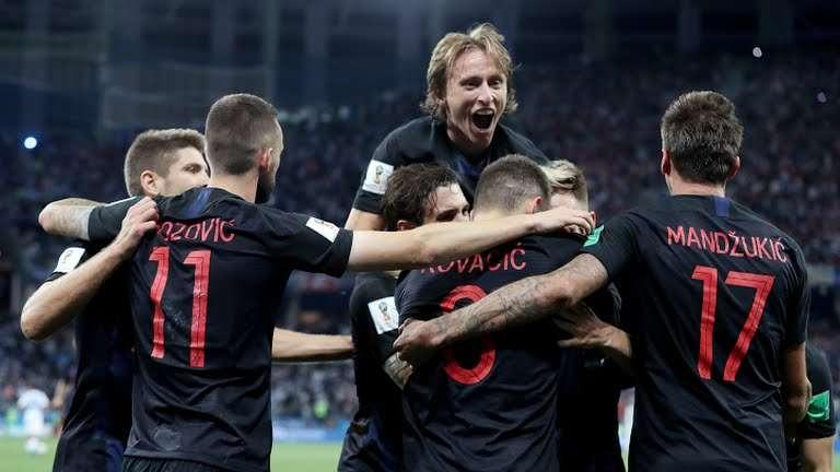 أهداف مباراة الأرجنتين وكرواتيا