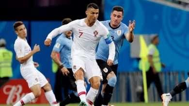 ملخص أهداف مباراة أوروجواي والبرتغال 2:1 15