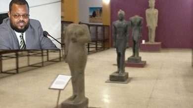 """Photo of وزير السياحة في السودان يرفض دخول المتحف بسبب """"الأصنام"""""""