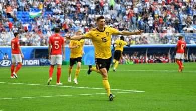 متابعة ملخص اهداف نتيجة مباراة بلجيكا وانجلترا يوتيوب شاهد معنا 4