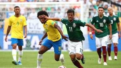نتيجة اهداف مباراة المكسيك والبرازيل مشاهدة مباشرة 12