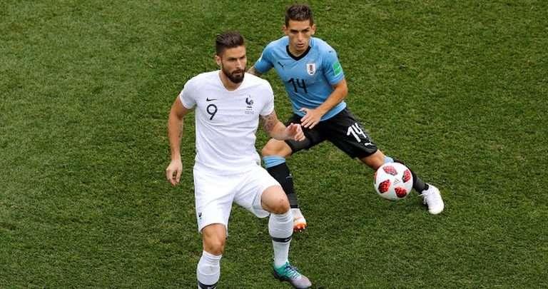 مشاهدة نتيجة اهداف مباراة اوروغواي وفرنسا في كأس العالم 2018 يلا شوت يلا كورة لايف بث مباشر أوروجواي 19