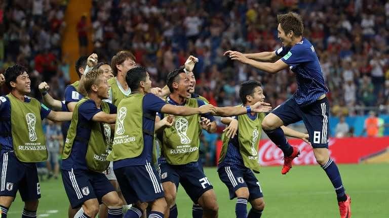 أهداف مباراة بلجيكا واليابان