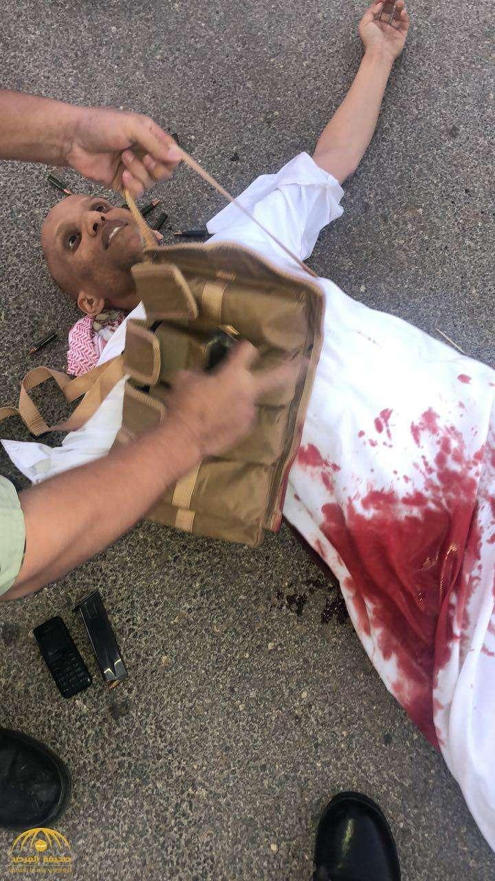 صورة وزارة الداخلية اطلاق النار في البكيرية والقبض على فواز عبدالرحمن عيد الحربي
