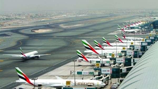 الإمارات تكشف حقيقة استهداف مطار دبي الدولي 7