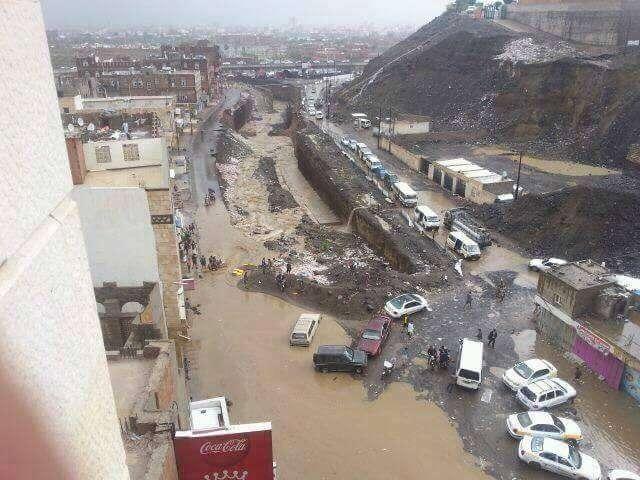 السيول القادمة من منطقة خولان