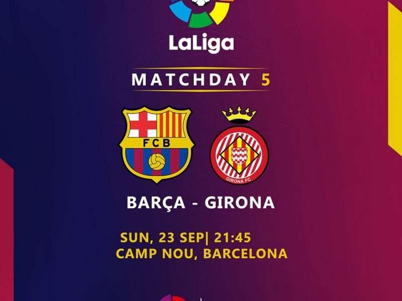 اهداف مباراة برشلونة وجيرونا يلا شوت كورة لايف اون لاين