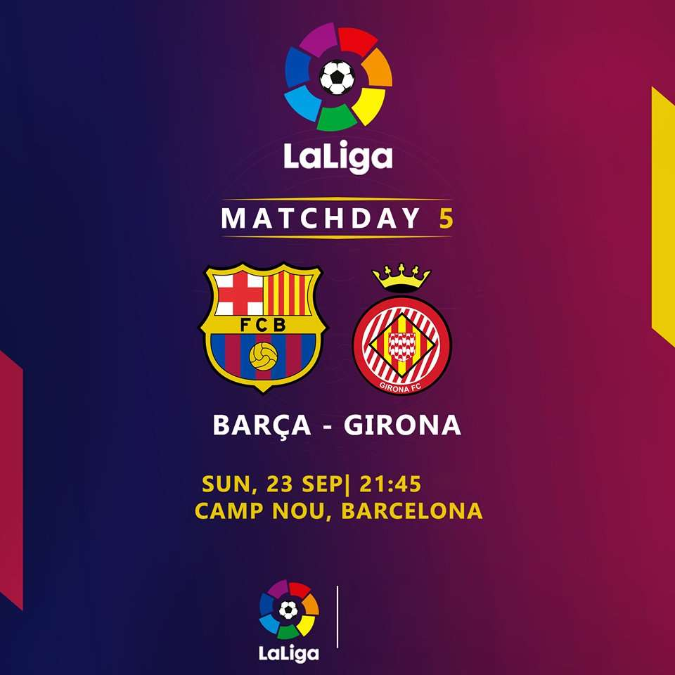 صورة اهداف مباراة برشلونة وجيرونا يلا شوت كورة لايف اون لاين