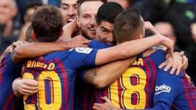 صورة اهداف مباراة برشلونة ضد ريال مدريد يلا شوت