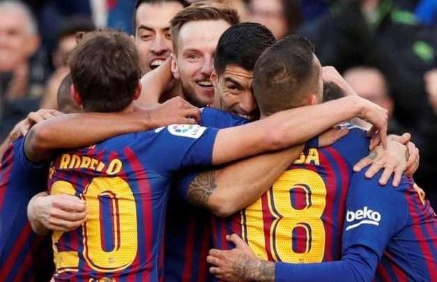 اهداف مباراة برشلونة وريال مدريد يلا شوت كلاسيكو الجولة 10 1
