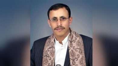 صورة تعيين ضيف الله قاسم الشامي وزير الإعلام في صنعاء