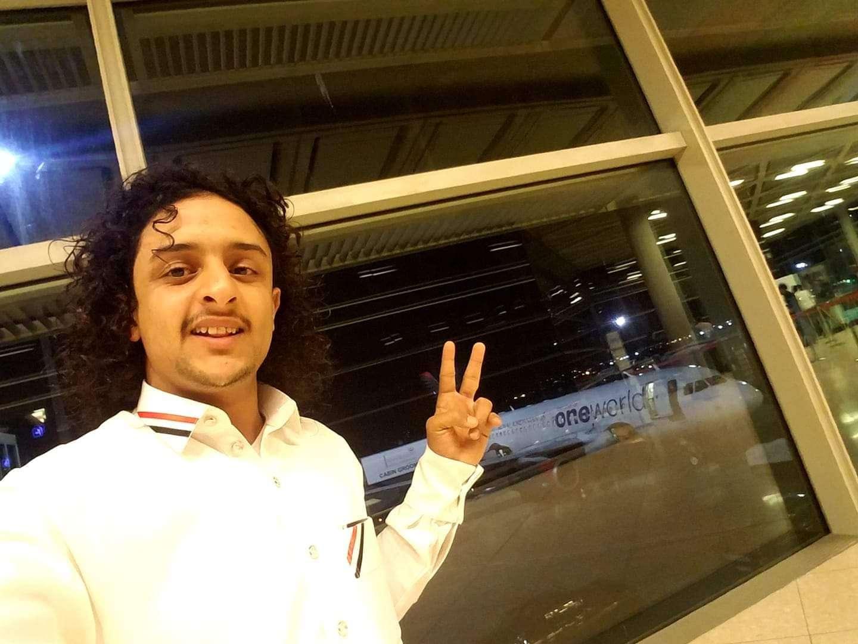 صورة ملاطف حميدي الحرازي يشارك في برنامج عرب جوت تالنت