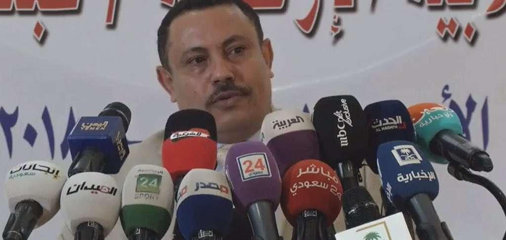 صورة برنامج بالمختصر بعد ضرب وزير الاعلام اليمني عبدالسلام جابر ماذا قال عن جزمة السقاف