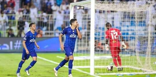 اهداف مباراة الهلا والوحدة اليوم في الدوري السعودي يلا شوت