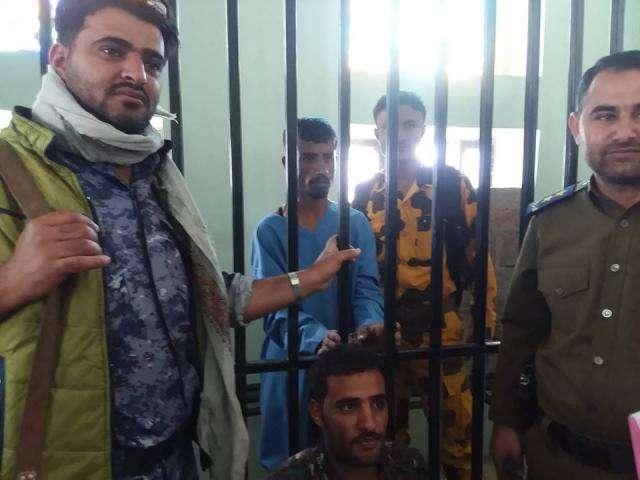 صورة تنفيذ حكم الإعدام بحق قاتل الطفلة الاء يوسف الحميري