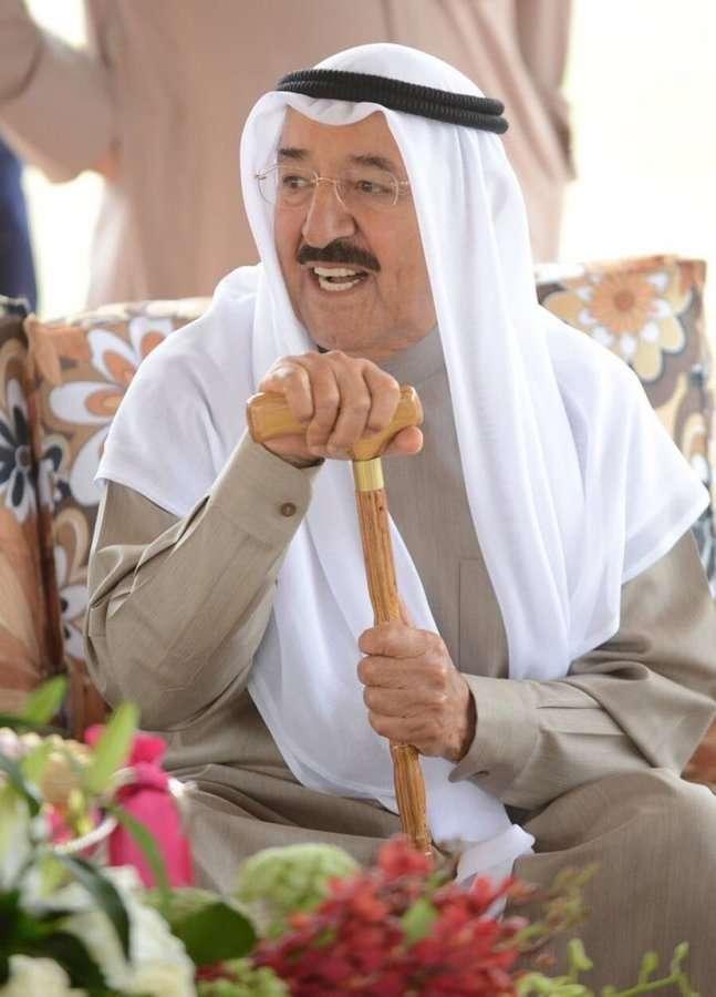 صورة حقيقة وفاة امير الكويت صباح الاحمد الصباح الكويتي