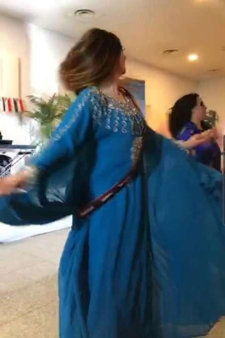 صورة هاني بن بريك في حفلة رقص في لندن وردود افعال غاضبة