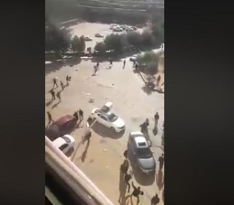Photo of فيديو : مشاجرة جامعة جرش في الأردن اليوم وتدخل أمني