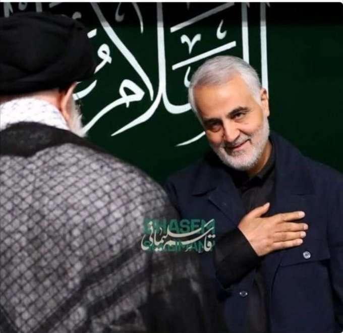 صورة سبب مقتل قاسم سليماني اليوم في العراق